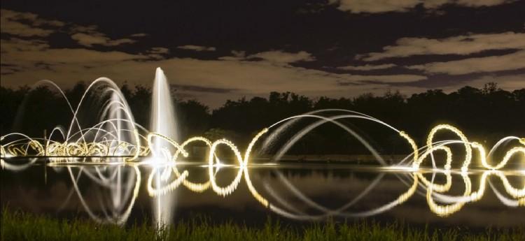 les belles dansesthe new water theater grove of versailles - Water Garden Theater