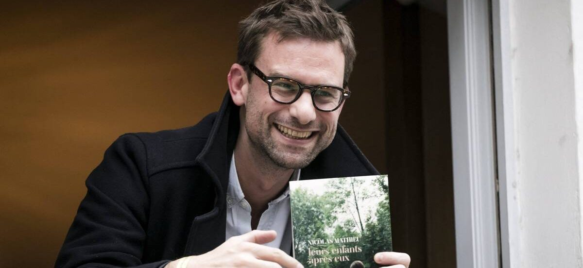 Virtual Book Club with Nicolas Mathieu on And Their Children After Them