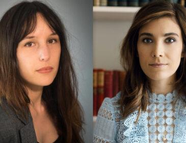 Portraits of author Victoria Mas and Novelist A. Victoria Joukovsky